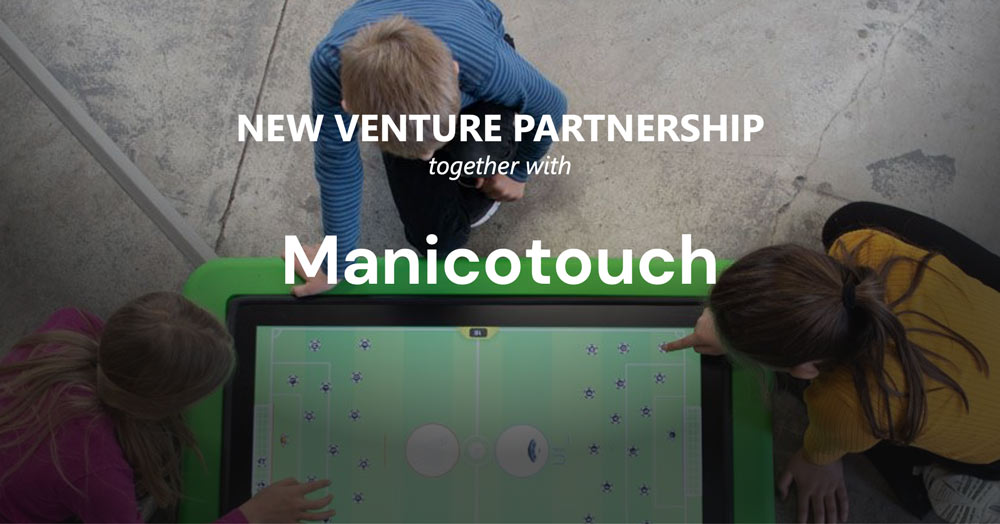 New venture partnership with Manico