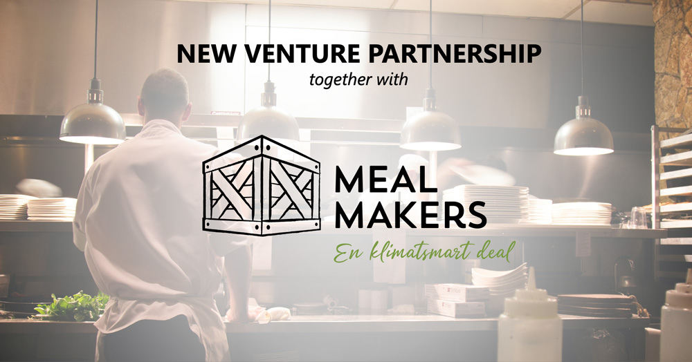 New venture partnership with Meal Makers