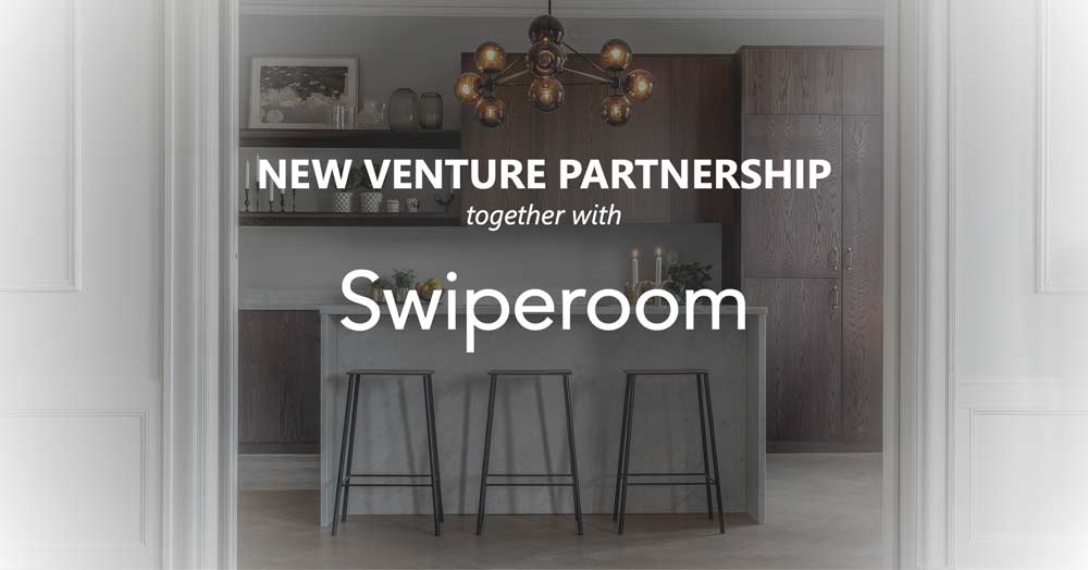 New venture partnership with Swiperoom