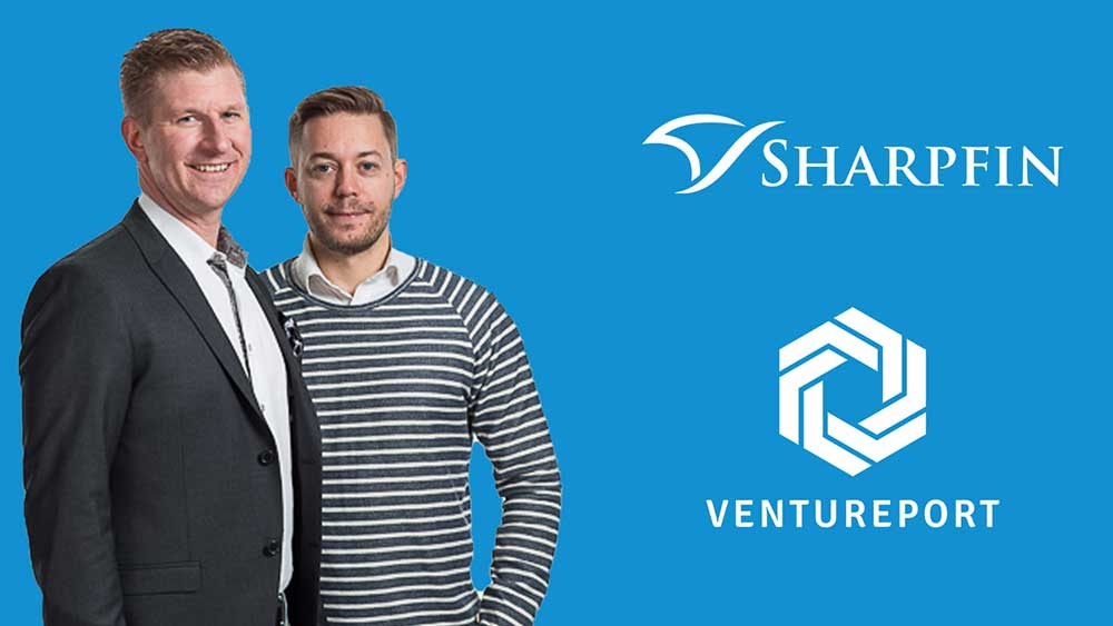 Sharpfin Joins Ventureport